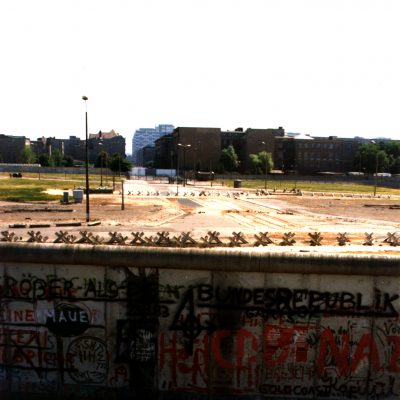 1.Berlin Wall. Potsdamer Platz. 9 July 1983