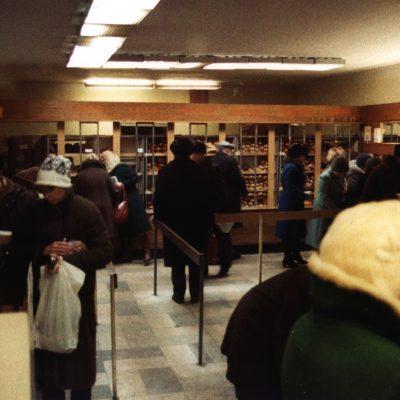 23.Bread, tea, sweets shop. 80 Nevsky Prospect. 8 December 1983