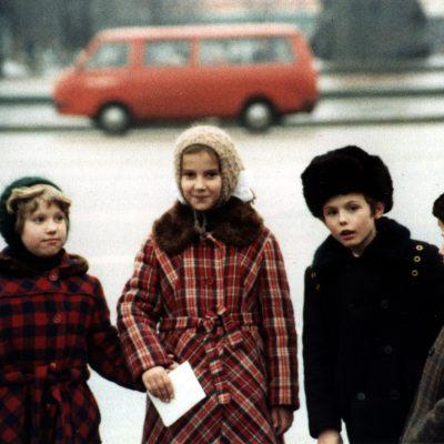 31.Schoolchildren Sverdlov Square, Moscow 28 11 1983