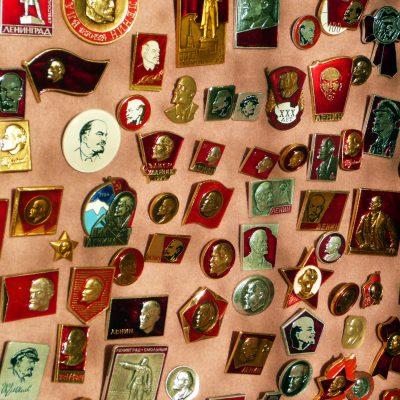 51.Aluminium lapel badges