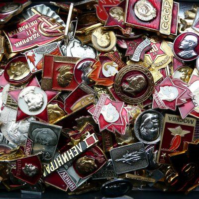 52.Aluminium lapel badges