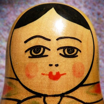 75.	Matroshka doll.